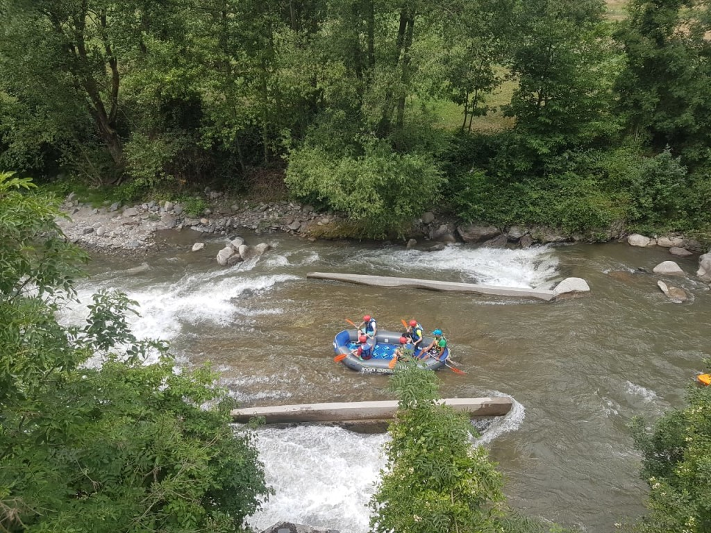 SUCCESS OF RAFTING ACTIVITY WITH ROCROI IN ANDORRA