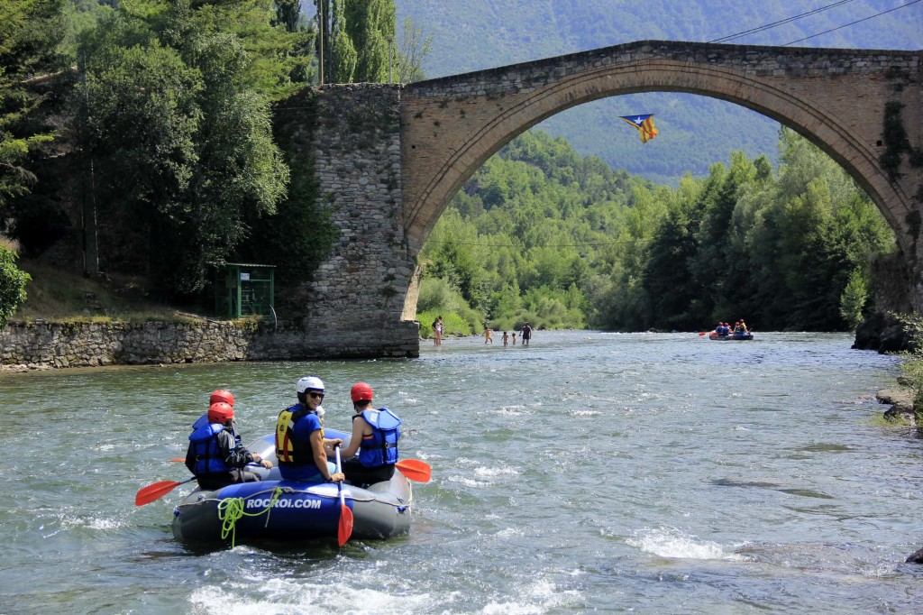THE MOST BEAUTIFUL RAFTING TOURS IN CATALONIA