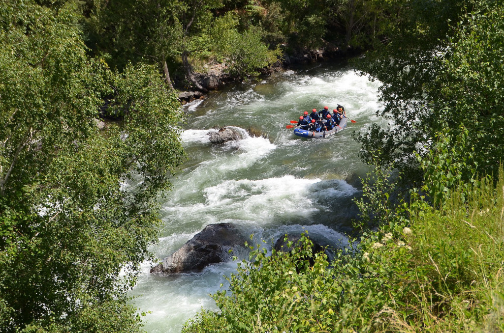 THE RAFTING SEASON ENDS IN THE BEST WAY