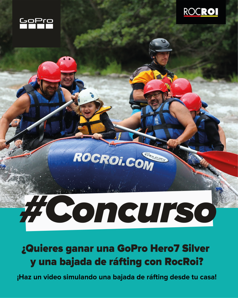 ROCROI LAUNCHES A CONTEST TO STAY AT HOME PRACTICING RAFTING