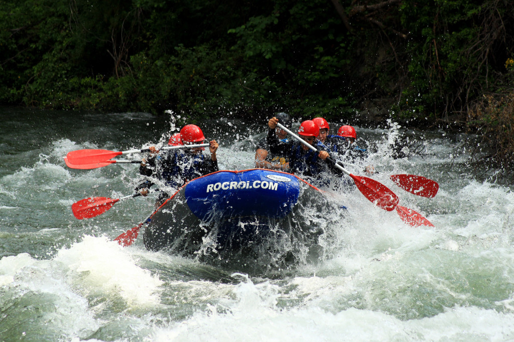 THE SECRETS OF RAFTING IN NOGUERA PALLARESA