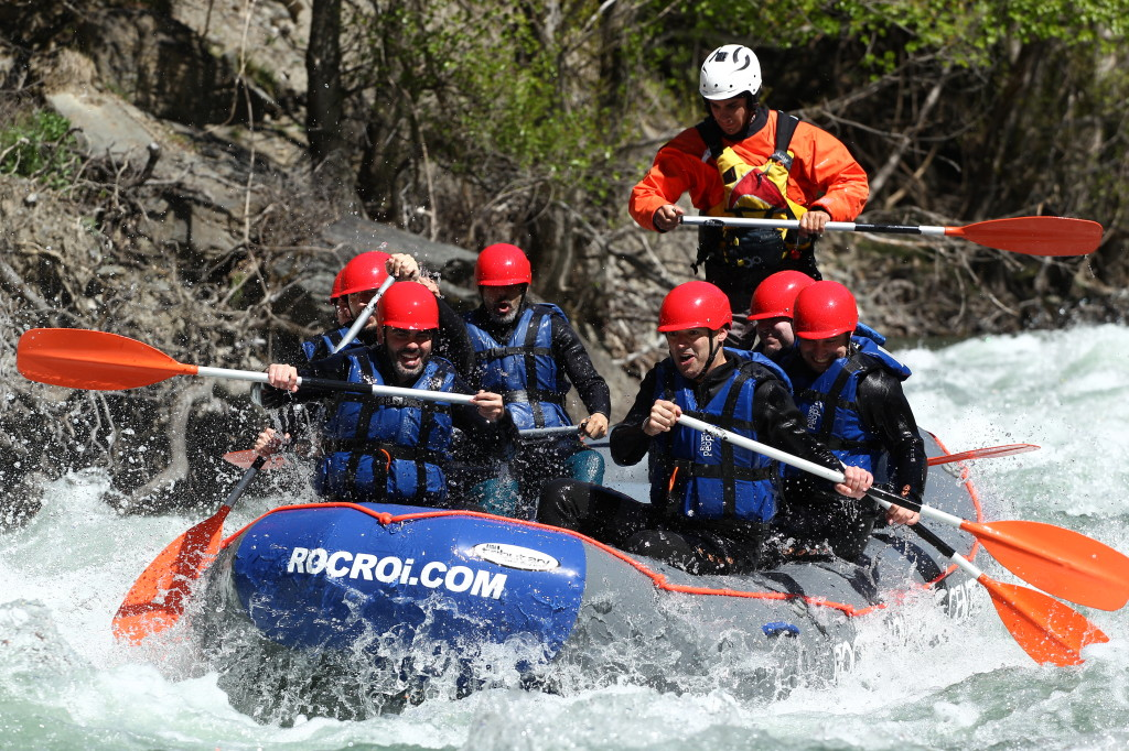 RAFTING DESCENT DURING JULY