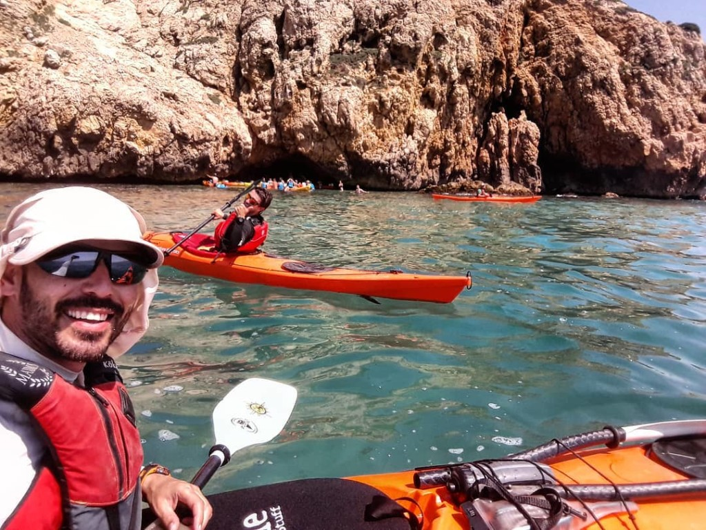 We interview Àngel Panicello, expert sea kayak guide
