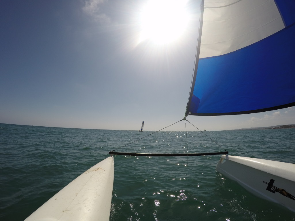 CATAMARAN SAILING COURSE IN ROCROI VILANOVA