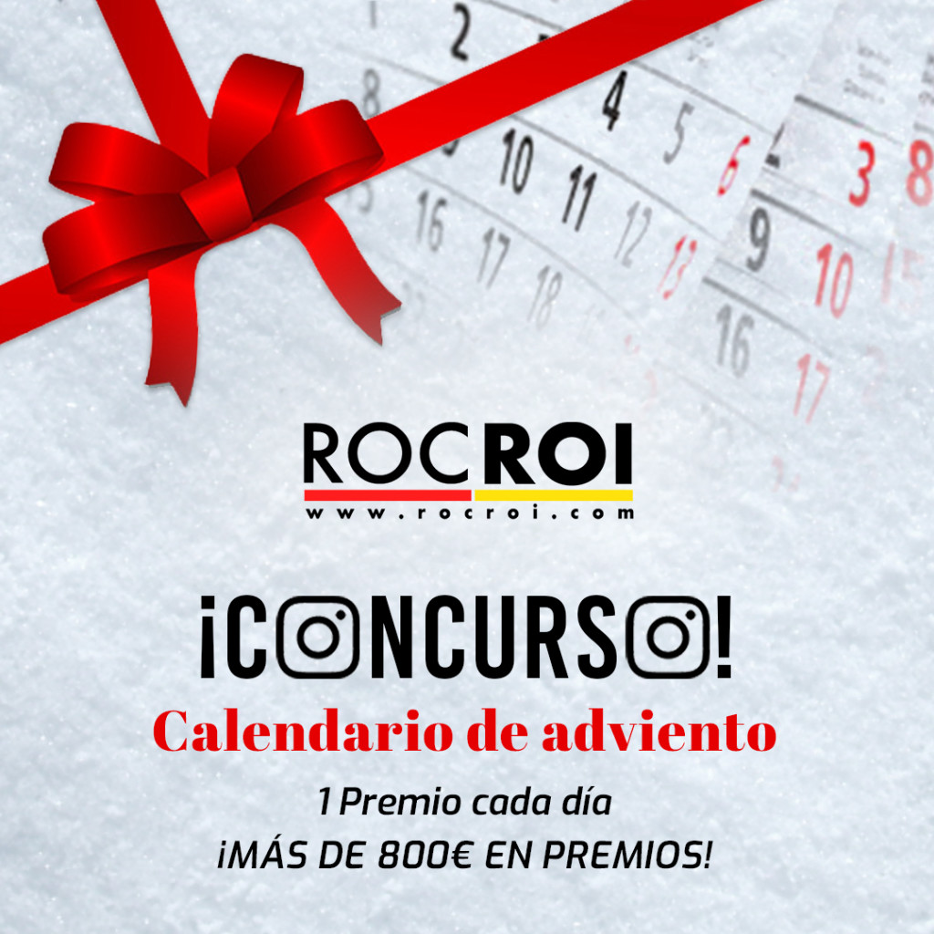 CONTEST RocRoi Advent Calendar: 1 prize every day