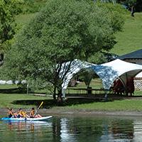 Alquiler canoas y kayak en lago