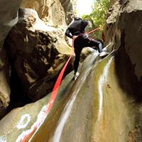 Canyoning ou descente de canyons