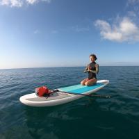 SUP Yoga en el mar