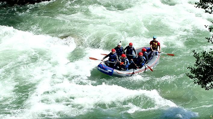 Rafting Llavorsí - Collegats VIP (52KM)
