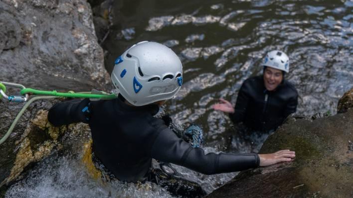 Barranco de Berrós + kayak doble 1h Lago de la Torrassa