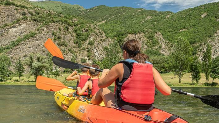 Alquiler Kayak Cuádruple 1H