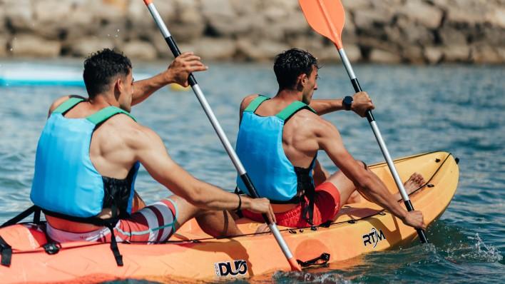 PASÍFAE - Excursión guiada en open kayak o paddle surf 2h