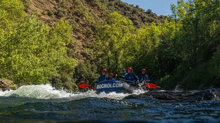 ¡NUEVO! Bajada en barca de rafting exclusiva de Llavorsí a Rialp (14KM)