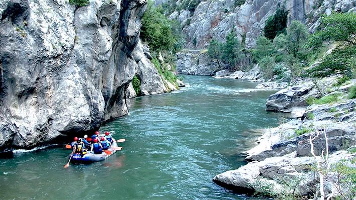Rafting de Arboló a Collegats (14KM)
