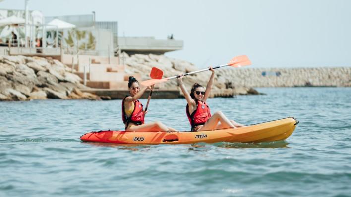 Excursión Open Kayak els Colls 3H
