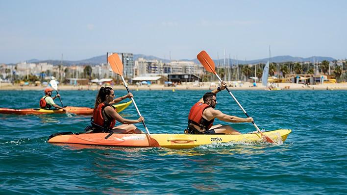 PASÍFAE Capvespre - Excursió guiada en open caiac o paddle surf 2h