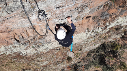 Guided route to Alins' Via Ferrata from 4 people