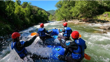 Rafting from Llavorsí to Sort (16KM)