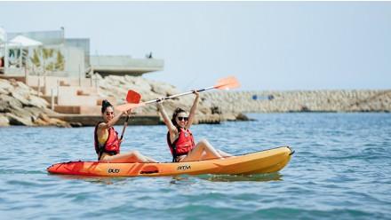 Double open kayak rental-1 day