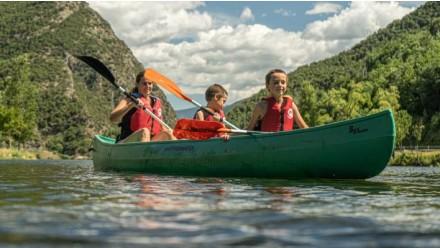 Double/triple canoe rental-30 minutes
