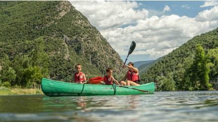 Quadruple canoe rent-1 hour
