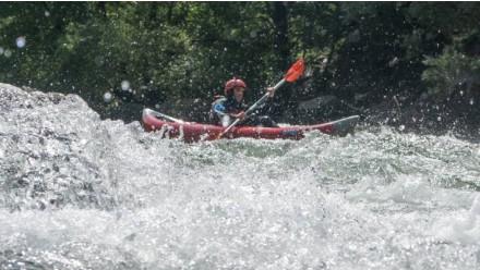 Yeti-Moleta open kayak descent (4.5 km)