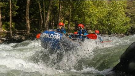 Rafting from Llavorsí to Rialp (14KM) + Canoes / Kayaking (1h in La Torrassa lake)