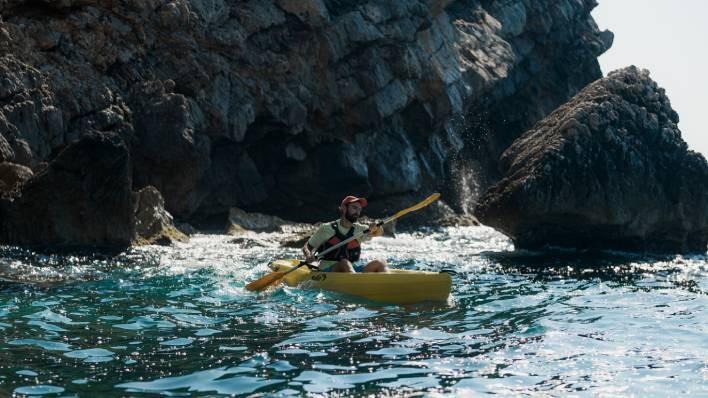 Individual open kayak rental-2 hours
