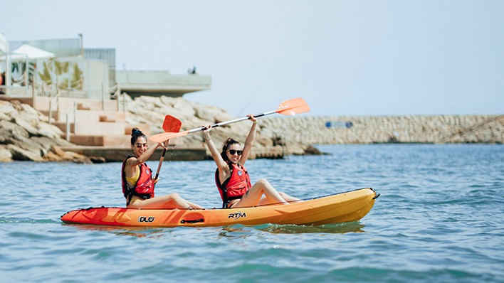 Double open kayak rental-1 hour