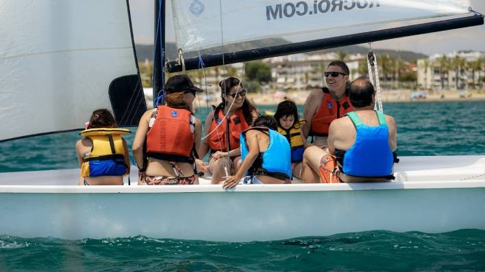New! 2h sailing baptism with exclusive guide