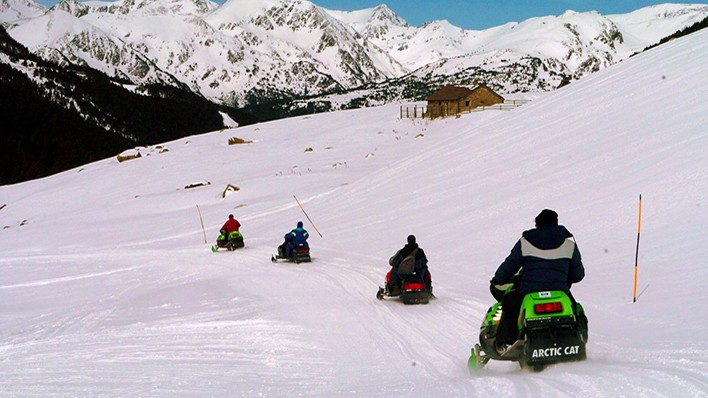 DOUBLE SNOWMOBILE RIDE 2H
