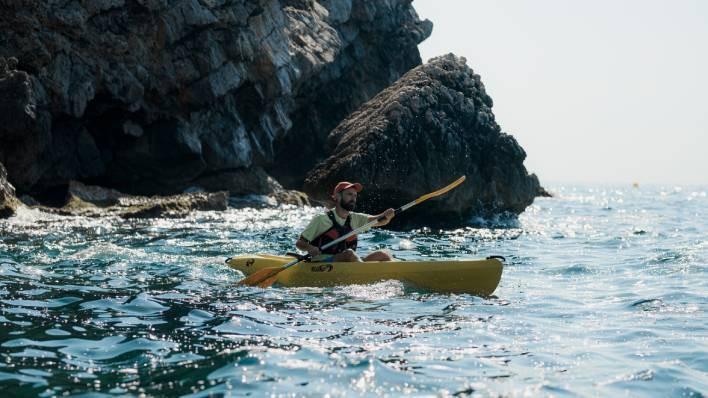 Individual Open Kayak rental 4H