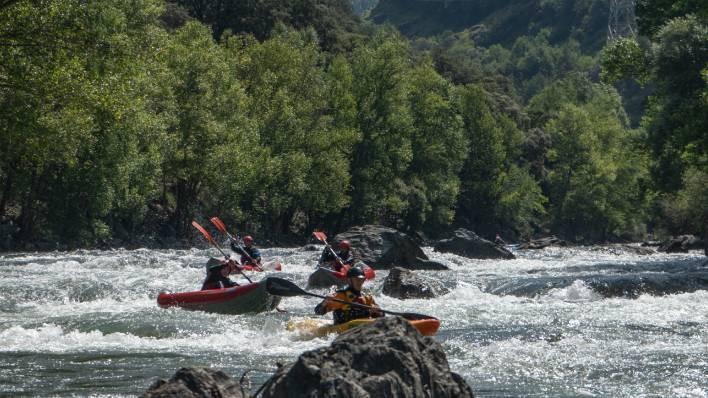 Gerri-Collegats open kayak descent (10 km)