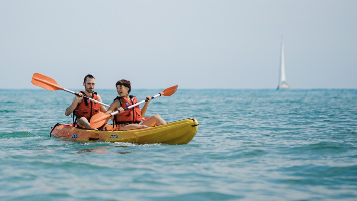 Doble Open Kayak rental 4H