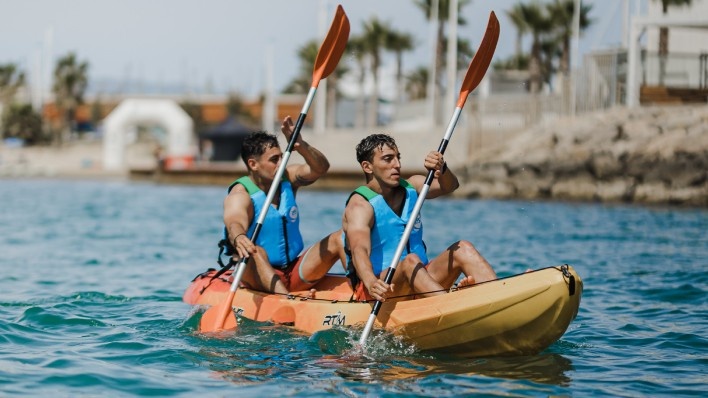 New! GUIDED ROUTE IN OPEN KAYAK 2H with exclusive guide