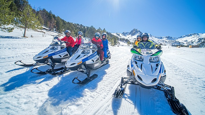 DOUBLE SNOWMOBILE RIDE 1H