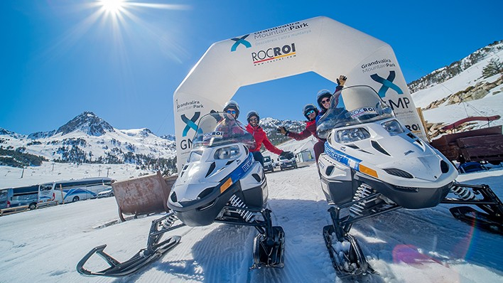 NEW! GUIDED ROUTE EXCLUSIVELY IN SNOWMOBILE 2H
