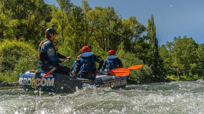 NEW! EXCLUSIVE RAFTING BOAT FROM LLAVORSÍ TO RIALP (14KM)