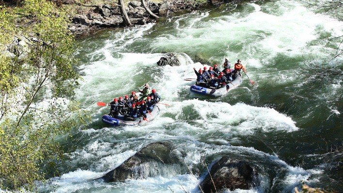 NEW! EXCLUSIVE RAFTING BOAT FROM ARBOLÓ TO COLLEGATS (14KM)