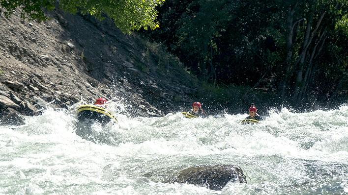 Rafting from Llavorsí to Rialp (14KM) + Hydrospeed 9km