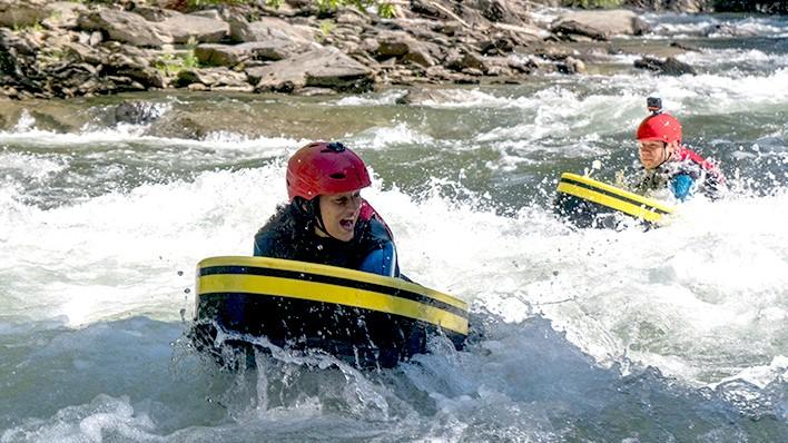 Yeti-Moleta riverboarding (4,5 km)