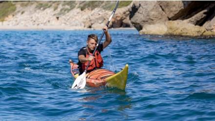Expédition en kayak de mer 'Calas de Sitges' 3h