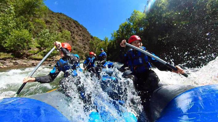 Rafting de Llavorsí à Rialp (14KM) + Canyoning + 2 nuits à DBL hôtel 4* Pessets by ASSUA VIATGES
