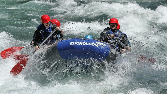 Rafting de Llavorsí à Collegats VIP (52KM)