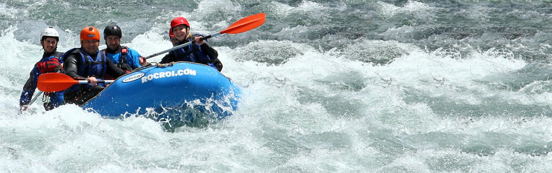 Rafting en el Noguera Pallaresa