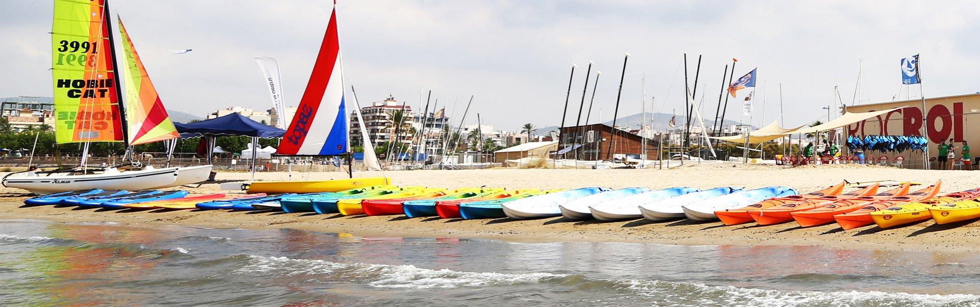 Open Kayak, Windsurf Spain 2016